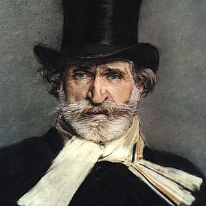Painting of Giuseppe Verdi by Giovanni Boldini
